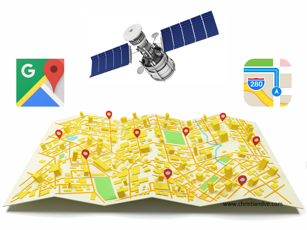 Google, application GPS gratuite en vue