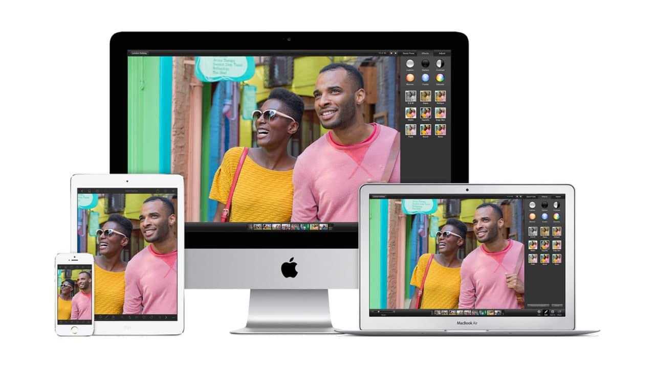 iPhoto version iOS disponible sur l'Appstore